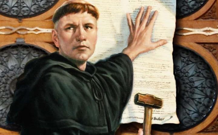 Martinho Lutero e as 5 solas da reforma protestante