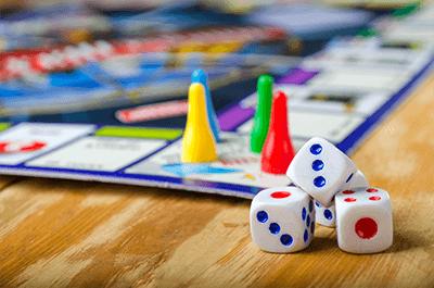 Jogos de Tabuleiro - Férias com crianças em casa